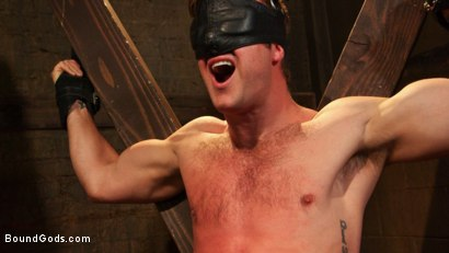 Photo number 6 from Connor Patricks at the mercy of Mr Ducati shot for Bound Gods on Kink.com. Featuring Trenton Ducati and Connor Patricks in hardcore BDSM & Fetish porn.