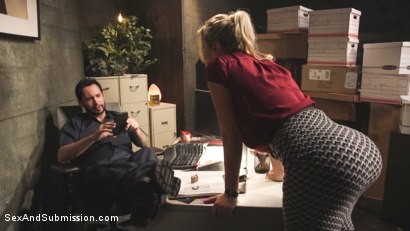 Photo number 2 from A Dangerous Load shot for Sex And Submission on Kink.com. Featuring Savana Styles and Tommy Pistol in hardcore BDSM & Fetish porn.