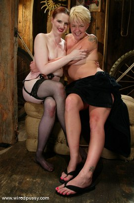 Photo number 15 from Claire Adams and Missy Monroe shot for Wired Pussy on Kink.com. Featuring Missy Monroe and Claire Adams in hardcore BDSM & Fetish porn.