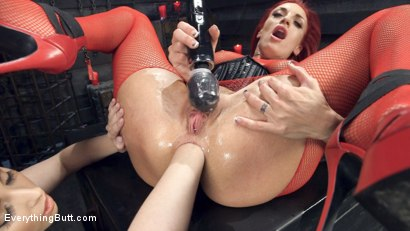 Photo number 1 from Filthy, Hot, Red head MILF loves Anal from sexy young Casey Calvert shot for Everything Butt on Kink.com. Featuring Casey Calvert and Celeste Summerz in hardcore BDSM & Fetish porn.