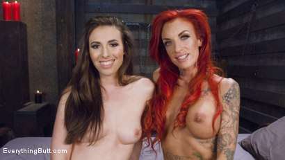 Photo number 15 from Filthy, Hot, Red head MILF loves Anal from sexy young Casey Calvert shot for Everything Butt on Kink.com. Featuring Casey Calvert and Celeste Summerz in hardcore BDSM & Fetish porn.