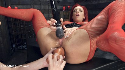 Photo number 4 from Filthy, Hot, Red head MILF loves Anal from sexy young Casey Calvert shot for Everything Butt on Kink.com. Featuring Casey Calvert and Celeste Summerz in hardcore BDSM & Fetish porn.
