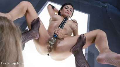 Photo number 6 from Berretta James is Trapped in Aiden Starr's Spill room shot for Everything Butt on Kink.com. Featuring Aiden Starr and Beretta James in hardcore BDSM & Fetish porn.