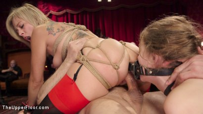 Photo number 5 from Bombshell Blond Anal Queen Trains New Slave Girl  shot for The Upper Floor on Kink.com. Featuring Zoey Monroe, John Strong and Samantha Hayes in hardcore BDSM & Fetish porn.