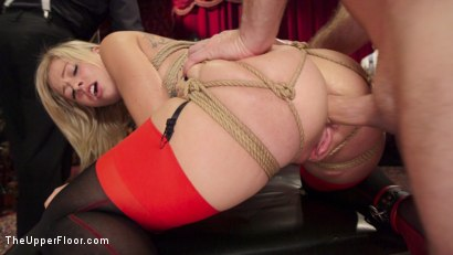 Photo number 4 from Bombshell Blond Anal Queen Trains New Slave Girl  shot for The Upper Floor on Kink.com. Featuring Zoey Monroe, John Strong and Samantha Hayes in hardcore BDSM & Fetish porn.