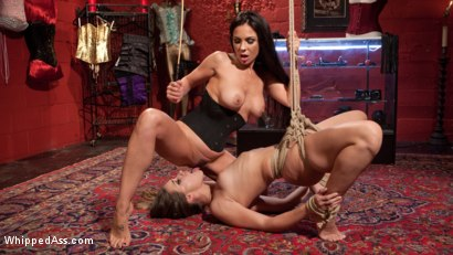 Photo number 8 from The Kinky Corset Shop shot for Whipped Ass on Kink.com. Featuring Kirsten Price and Cassidy Klein in hardcore BDSM & Fetish porn.