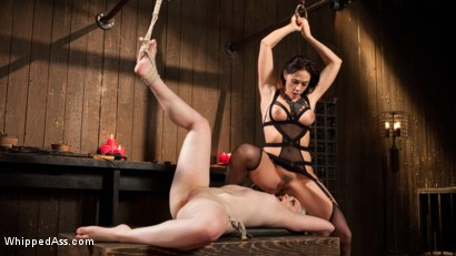 Photo number 10 from Chanel Preston's Hot New Play Thing shot for Whipped Ass on Kink.com. Featuring Chanel Preston and Dresden in hardcore BDSM & Fetish porn.