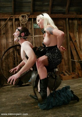 Photo number 5 from Nomad and Lorelei Lee shot for Men In Pain on Kink.com. Featuring Nomad and Lorelei Lee in hardcore BDSM & Fetish porn.