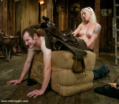 Photo number 11 from Nomad and Lorelei Lee shot for Men In Pain on Kink.com. Featuring Nomad and Lorelei Lee in hardcore BDSM & Fetish porn.
