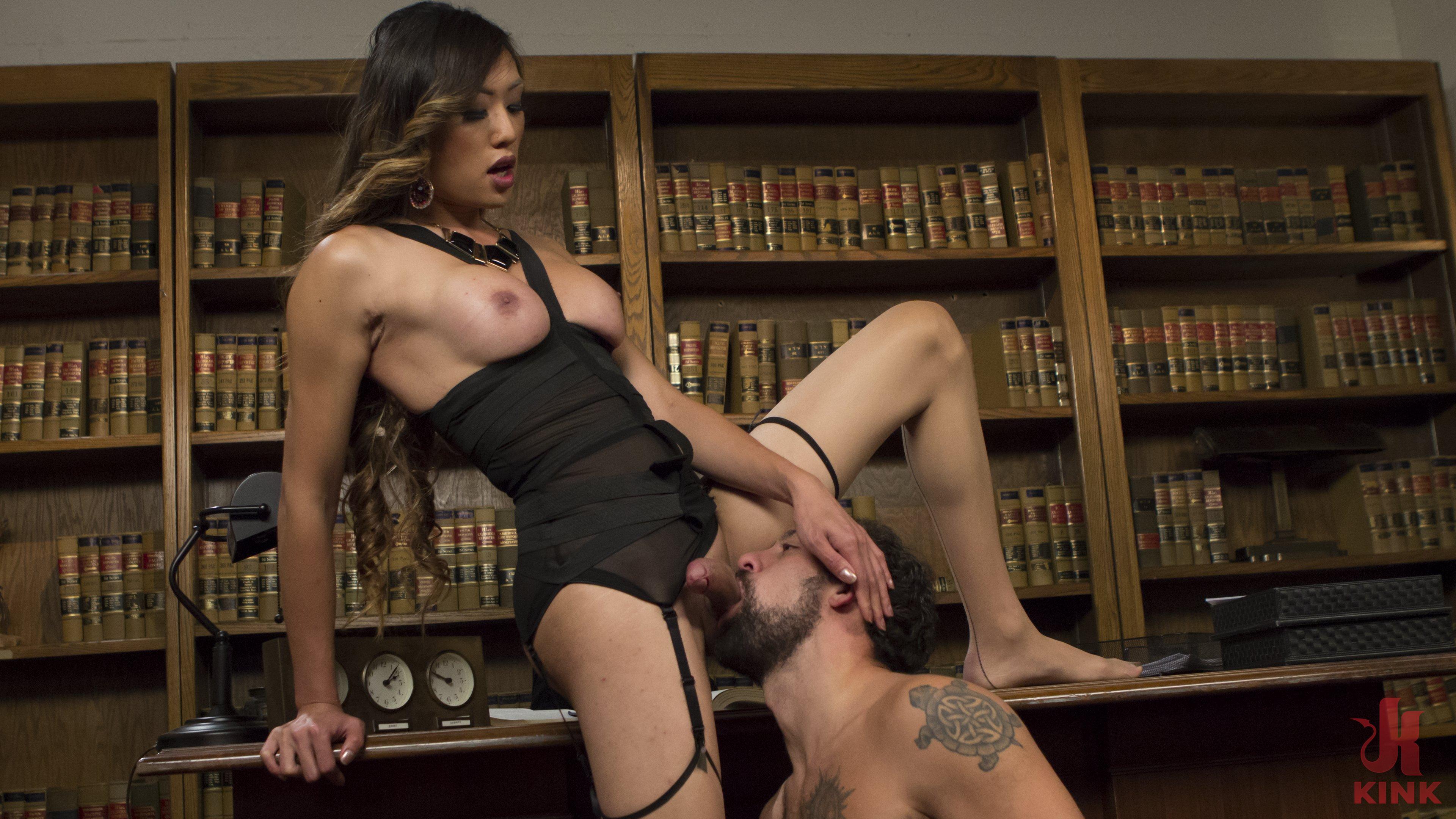 Huge boob dominatrix