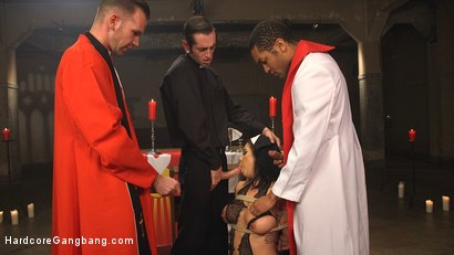 Photo number 4 from Ex prostitute turned nun gets gangbanged! shot for Hardcore Gangbang on Kink.com. Featuring Kimmy Lee, Mickey Mod, Wolf Hudson, Will Havoc, Owen Gray and Gage Sin in hardcore BDSM & Fetish porn.