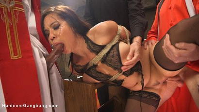 Photo number 13 from Ex prostitute turned nun gets gangbanged! shot for Hardcore Gangbang on Kink.com. Featuring Kimmy Lee, Mickey Mod, Wolf Hudson, Will Havoc, Owen Gray and Gage Sin in hardcore BDSM & Fetish porn.