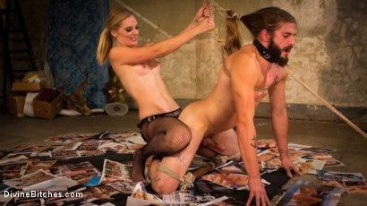 Photo number 4 from Mona Wales lifts, tosses and fucks trucker pervert! shot for Divine Bitches on Kink.com. Featuring Nathan Bronson and Mona Wales in hardcore BDSM & Fetish porn.