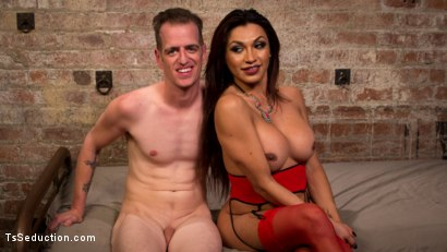 Photo number 5 from TS Cream Pie For Good Sluts shot for TS Seduction on Kink.com. Featuring Chad Diamond and Jessy Dubai in hardcore BDSM & Fetish porn.