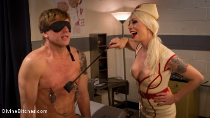 Photo number 13 from Savor the last taste of pussy you'll ever have, slaveboy! shot for Divine Bitches on Kink.com. Featuring Lorelei Lee and Damien Thorne in hardcore BDSM & Fetish porn.