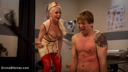 Photo number 2 from Savor the last taste of pussy you'll ever have, slaveboy! shot for Divine Bitches on Kink.com. Featuring Lorelei Lee and Damien Thorne in hardcore BDSM & Fetish porn.