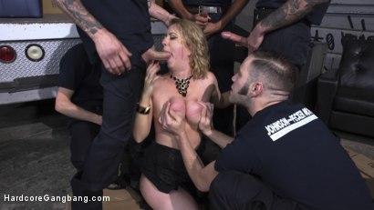 Photo number 13 from Johnson and Pecker Moving: Packing Your Box Since 69' shot for Hardcore Gangbang on Kink.com. Featuring Cherry Torn, Mickey Mod, Will Havoc, Wolf Hudson, Owen Gray and Gage Sin in hardcore BDSM & Fetish porn.
