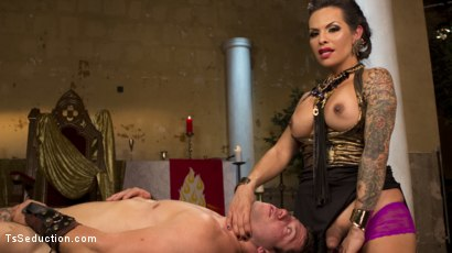 Photo number 14 from Goddess TS Foxxy shot for TS Seduction on Kink.com. Featuring Reed Jameson and TS Foxxy in hardcore BDSM & Fetish porn.