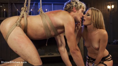 Photo number 20 from Sadistic Barbie Breaks Ken Doll shot for Divine Bitches on Kink.com. Featuring Daniel Lament and Mona Wales in hardcore BDSM & Fetish porn.