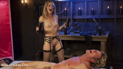 Photo number 31 from Sadistic Barbie Breaks Ken Doll shot for Divine Bitches on Kink.com. Featuring Daniel Lament and Mona Wales in hardcore BDSM & Fetish porn.