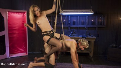 Photo number 3 from Sadistic Barbie Breaks Ken Doll shot for Divine Bitches on Kink.com. Featuring Daniel Lament and Mona Wales in hardcore BDSM & Fetish porn.