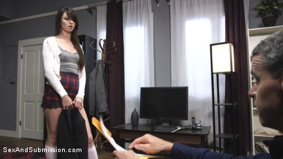 Photo number 1 from Rich Brat Learns A is for Anal shot for Sex And Submission on Kink.com. Featuring Aspen Ora and Tommy Pistol in hardcore BDSM & Fetish porn.