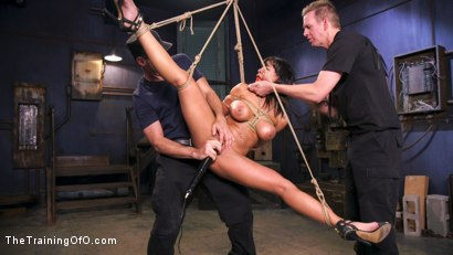 Photo number 13 from Hot Latina Slave for a Day shot for The Training Of O on Kink.com. Featuring Luna Star and Mark Wood in hardcore BDSM & Fetish porn.