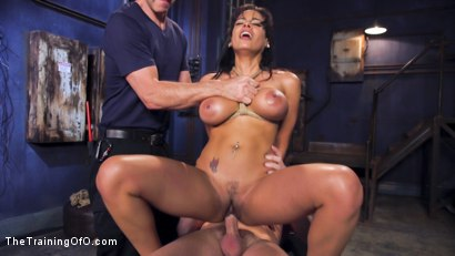 Photo number 3 from Hot Latina Slave for a Day shot for The Training Of O on Kink.com. Featuring Luna Star and Mark Wood in hardcore BDSM & Fetish porn.