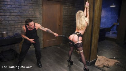 Photo number 4 from Slave Training Karla Kush, Day One shot for The Training Of O on Kink.com. Featuring Karla Kush and Mr. Pete in hardcore BDSM & Fetish porn.