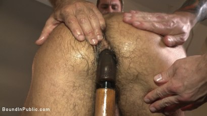 Photo number 1 from Horny gym goers dump their loads on a muscled gym rat shot for Bound in Public on Kink.com. Featuring Connor Maguire, Aarin Asker and Logan Taylor in hardcore BDSM & Fetish porn.