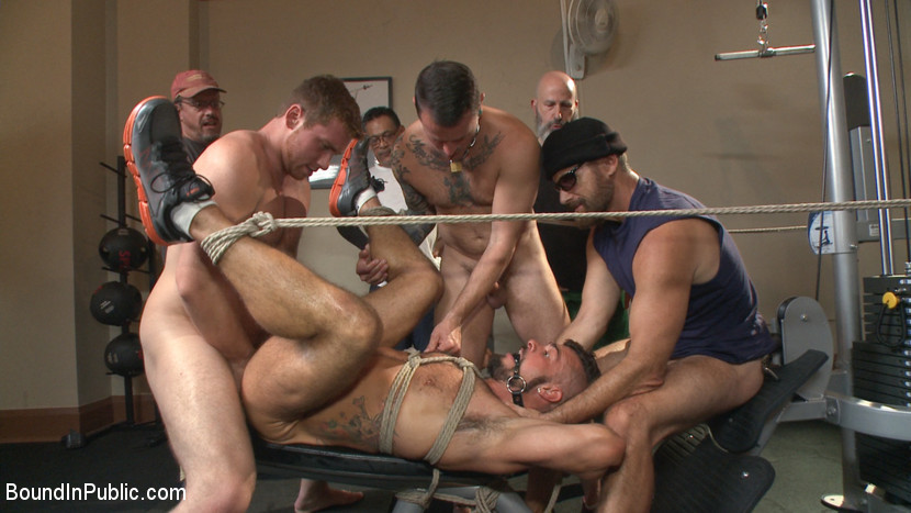 Gangbang with sf crew 10 cocks - 1 1
