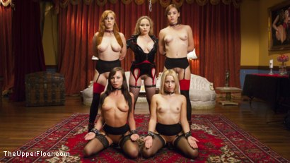 Photo number 14 from Sexy Anal Slaves Serve Holiday Orgy shot for The Upper Floor on Kink.com. Featuring Penny Pax, Audrey Holiday, Aiden Starr, Aidra Fox, Goldie Rush, Marco Banderas and John Strong in hardcore BDSM & Fetish porn.