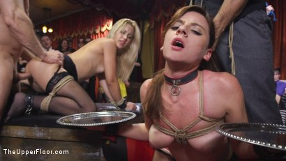 Photo number 14 from Slutty Slave Anal Orgy shot for The Upper Floor on Kink.com. Featuring Penny Pax, Audrey Holiday, Aiden Starr, Aidra Fox, Goldie Rush, Marco Banderas and John Strong in hardcore BDSM & Fetish porn.