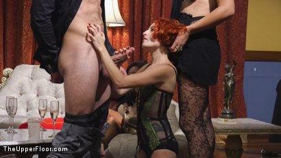 Photo number 15 from Slutty Slave Anal Orgy shot for The Upper Floor on Kink.com. Featuring Penny Pax, Audrey Holiday, Aiden Starr, Aidra Fox, Goldie Rush, Marco Banderas and John Strong in hardcore BDSM & Fetish porn.