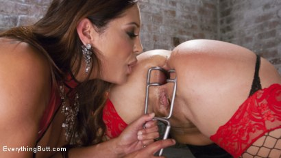 Photo number 7 from Big Booty Layla Pryce is Francesca Le's Anal Submissive shot for Everything Butt on Kink.com. Featuring Francesca Le  and Layla Price in hardcore BDSM & Fetish porn.