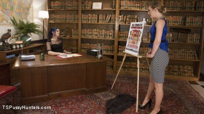 Photo number 2 from Great Fucking Pitch shot for TS Pussy Hunters on Kink.com. Featuring Mona Wales and Kelli Lox in hardcore BDSM & Fetish porn.
