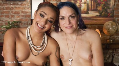 Photo number 14 from Bored Housewives Tupperware party turns into sweaty anal session shot for TS Pussy Hunters on Kink.com. Featuring Daisy Ducati and Kelli Lox in hardcore BDSM & Fetish porn.