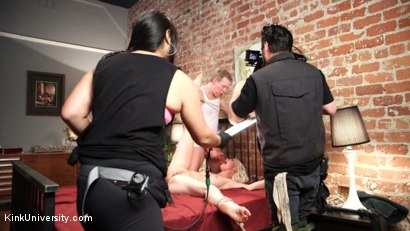 Photo number 11 from Deep Inside: Sex & Submission	 shot for Kink University on Kink.com. Featuring Mark Wood and Lorelei Lee in hardcore BDSM & Fetish porn.