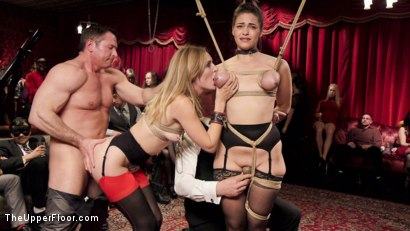Photo number 17 from Sweet Submissive & Anal Slave Well Used shot for The Upper Floor on Kink.com. Featuring John Strong, Kiki Sweet and Mona Wales in hardcore BDSM & Fetish porn.