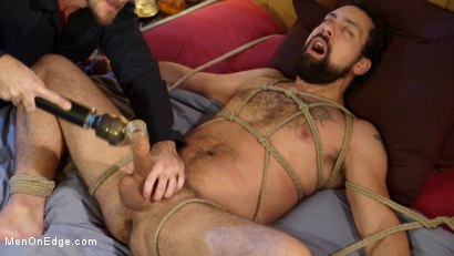 Photo number 7 from Ringing in the New Year with Relentless Edging & Ass to Mouth! shot for Men On Edge on Kink.com. Featuring DJ in hardcore BDSM & Fetish porn.