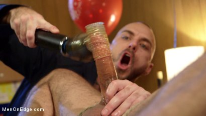 Photo number 8 from Ringing in the New Year with Relentless Edging & Ass to Mouth! shot for Men On Edge on Kink.com. Featuring DJ in hardcore BDSM & Fetish porn.