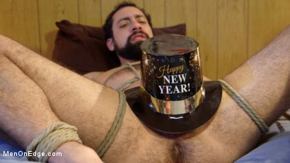 Photo number 14 from Ringing in the New Year with Relentless Edging & Ass to Mouth! shot for Men On Edge on Kink.com. Featuring DJ in hardcore BDSM & Fetish porn.