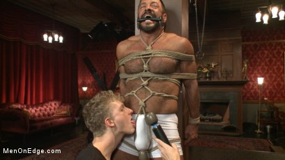 Photo number 2 from Alpha Stud Gives in to a Prolonged Edging shot for Men On Edge on Kink.com. Featuring Vinnie Stefano in hardcore BDSM & Fetish porn.