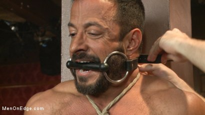 Photo number 1 from Alpha Stud Gives in to a Prolonged Edging shot for Men On Edge on Kink.com. Featuring Vinnie Stefano in hardcore BDSM & Fetish porn.