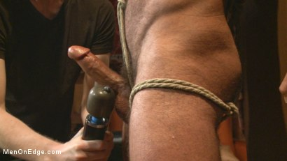 Photo number 7 from Alpha Stud Gives in to a Prolonged Edging shot for Men On Edge on Kink.com. Featuring Vinnie Stefano in hardcore BDSM & Fetish porn.