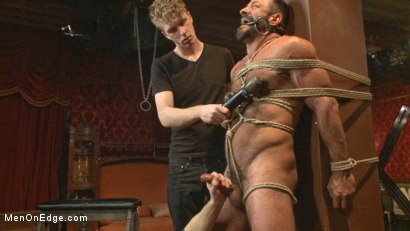 Photo number 5 from Alpha Stud Gives in to a Prolonged Edging shot for Men On Edge on Kink.com. Featuring Vinnie Stefano in hardcore BDSM & Fetish porn.