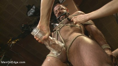 Photo number 6 from Alpha Stud Gives in to a Prolonged Edging shot for Men On Edge on Kink.com. Featuring Vinnie Stefano in hardcore BDSM & Fetish porn.