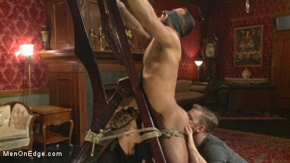 Photo number 11 from Alpha Stud Gives in to a Prolonged Edging shot for Men On Edge on Kink.com. Featuring Vinnie Stefano in hardcore BDSM & Fetish porn.
