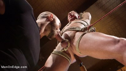 Photo number 13 from Chiseled guy begs to cum under intense edging shot for Men On Edge on Kink.com. Featuring Rex Cameron in hardcore BDSM & Fetish porn.