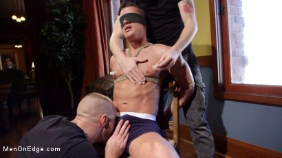 Photo number 4 from Chiseled guy begs to cum under intense edging shot for Men On Edge on Kink.com. Featuring Rex Cameron in hardcore BDSM & Fetish porn.